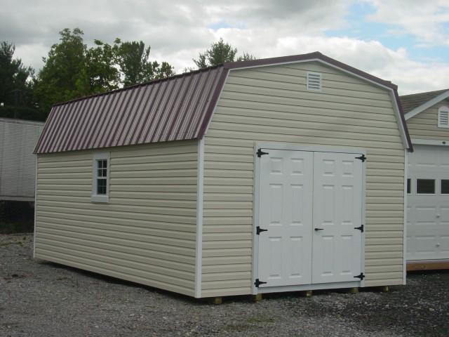 (Building #089) 12x20x7 Vinyl Barn