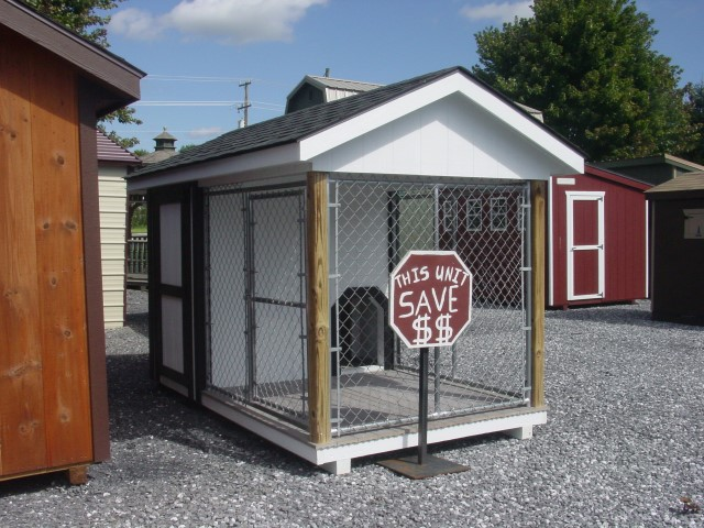 (Building #021) 6×10 Dog Kennel
