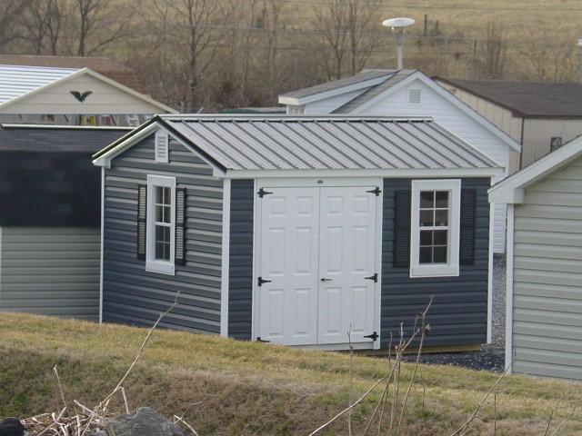 (Building #083) 10×12 Vinyl Cottage
