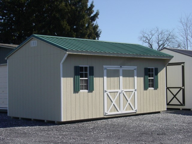 (Building #099) 12x20x8 Carriage House