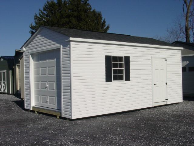 (Building #069) 12x20x8 Vinyl Cottage
