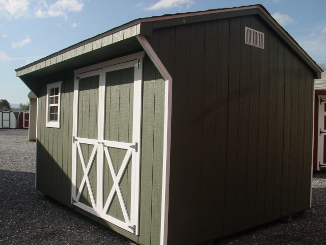 (Building #020) 10×12 Carriage House