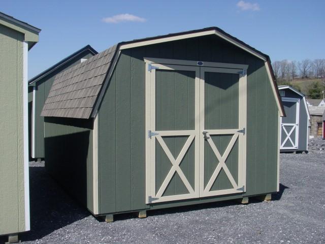 (Building #081) 10×16 Barn