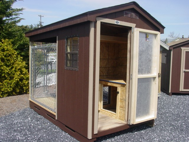 (Building #048) 6×10 Dog Kennel