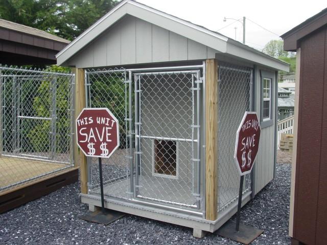(Building #059) 6×8 Dog Kennel