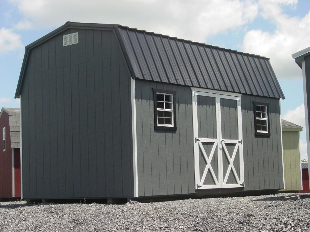 (Building #084) 10x16x7 Barn