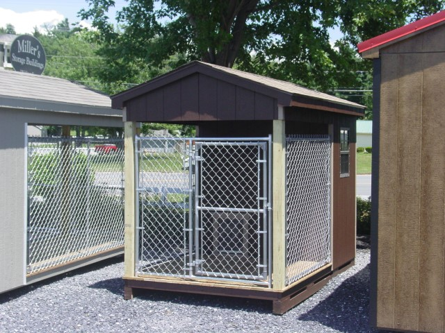 (Building #076) 6×10 Dog Kennel