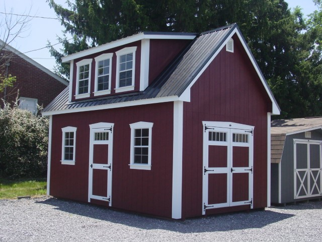 (Building #091) 12×20 Attic Cottage
