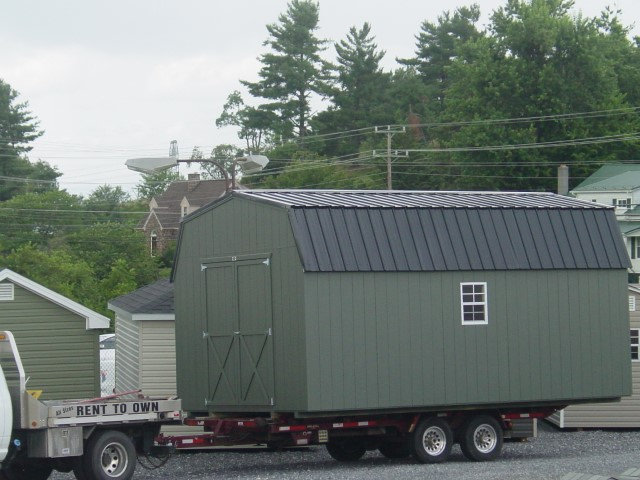 (Building #028) 12x20x7 Economy Barn