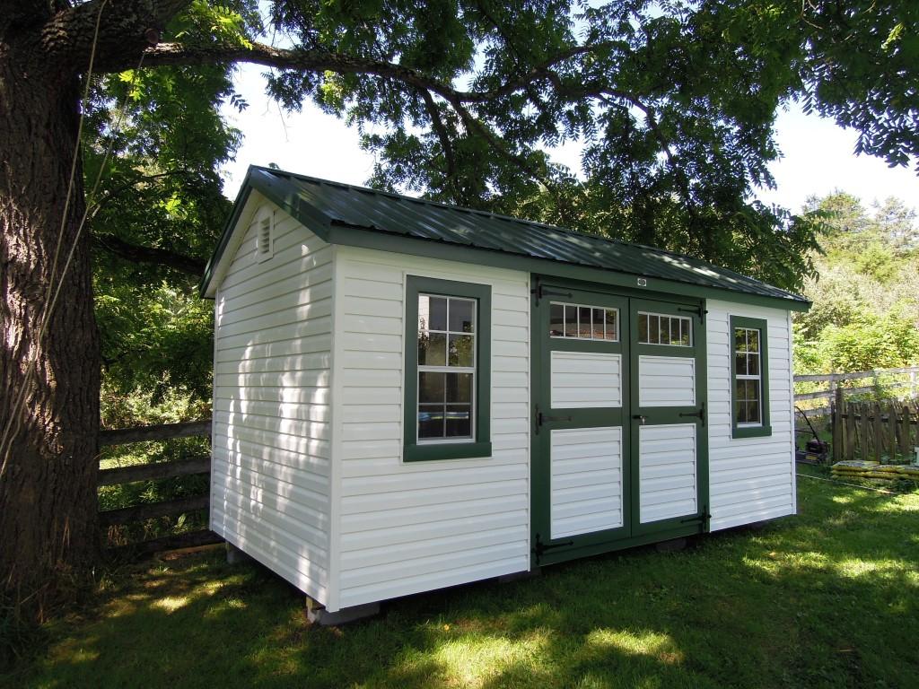 (Building #221) 8×16 Vinyl Garden House