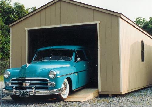 Cottage Style Garages