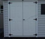 Solid Metal Doors