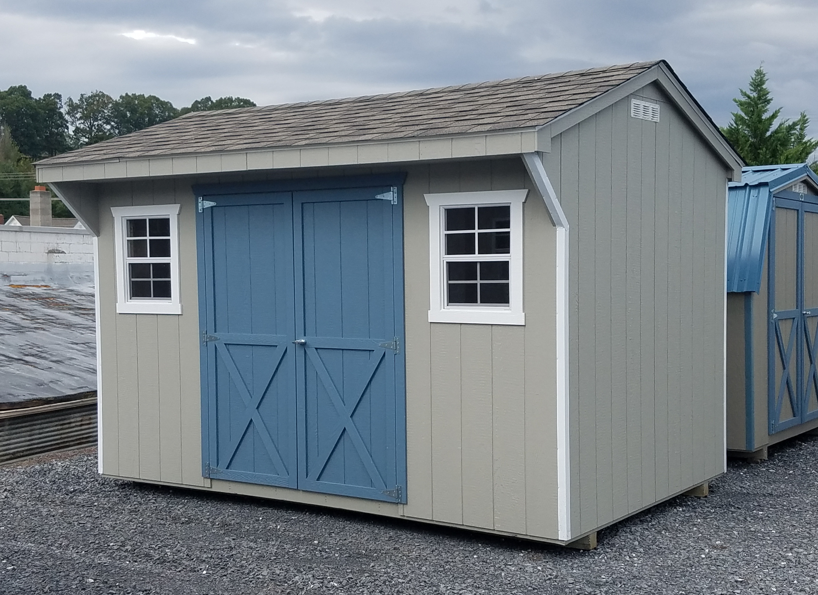 (Building #105) 8×12 Carriage House