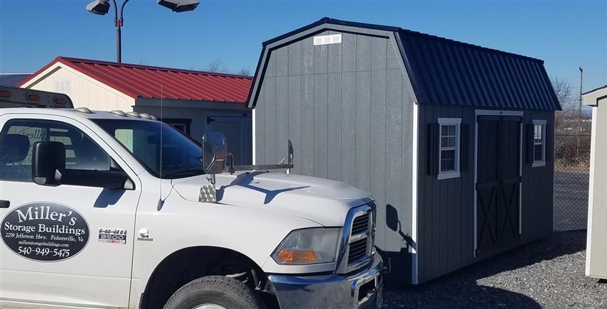(Building #105) 8x16x7 Barn
