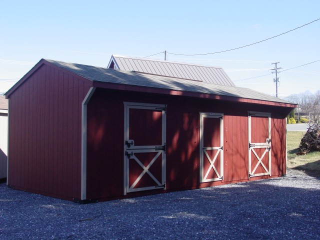 (Building #107) 12×28 Stable