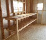 2' Workbenches & Shelves