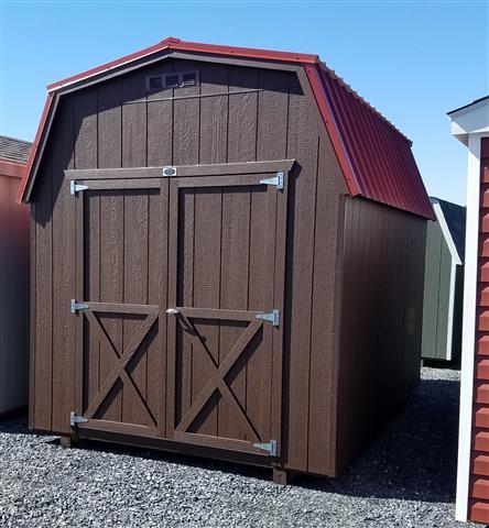 (Building #112) 8x12x6 Barn